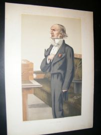 Vanity Fair Print 1879 William Gladstone, Prime Minister